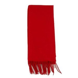 Womens Winter Warm Scarves 100% Cashmere Red Scarf